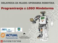Delavnica LEGO Mindstorms